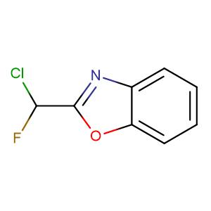 2-(chloro-fluoro-methyl)-benzooxazole,CAS No. 73774-26-2.