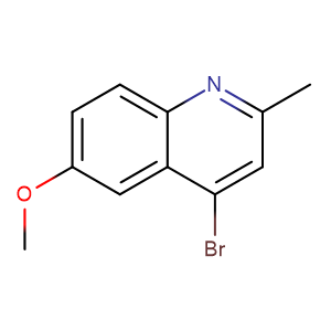4 - Bromo - 6 - methoxyquinaldine,CAS No. 856095-00-6.