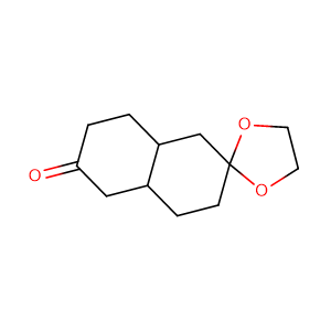 decahydro-2,6-naphthalenedione monoethylene ketal,CAS No. 27793-68-6.
