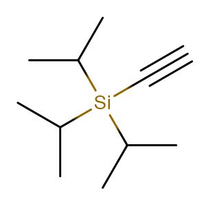 (Triisopropylsilyl)acetylene,CAS No. 89343-06-6.
