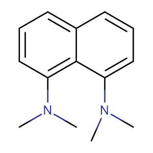 N,N,N',N'-tetra-methylnaphthalene-1,8-diamine,CAS No. 20734-58-1.