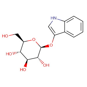 3-Indoxyl-beta-D-glucopyranoside,CAS No. 487-60-5.