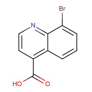 8-Bromoquinoline-4-carboxylic acid,CAS No. 121490-67-3.