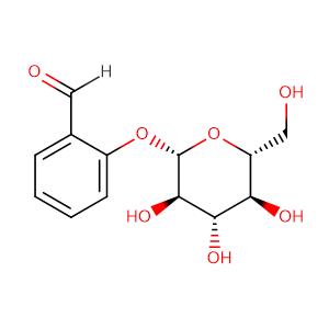 Helicin,CAS No. 618-65-5.
