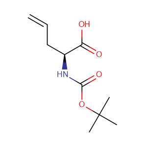 (S)-2-((tert-Butoxycarbonyl)amino)pent-4-enoic acid,CAS No. 90600-20-7.