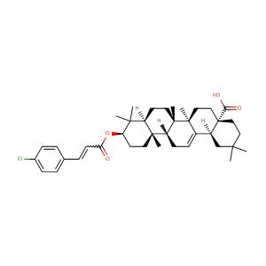(3beta)-3-[[(2E)-3-(4-Chlorophenyl)-1-oxo-2-propenyl]oxy]-olean-12-en-28-oic acid,CAS No. 892869-42-0.