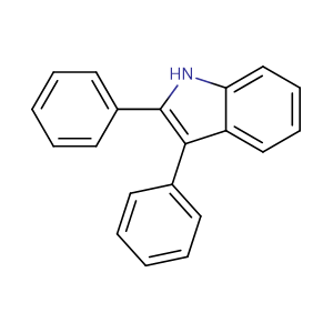 2,3-Diphenyl-1H-indole,CAS No. 3469-20-3.