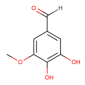 3,4-Dihydroxy-5-methoxybenzaldehyde,CAS No. 3934-87-0.