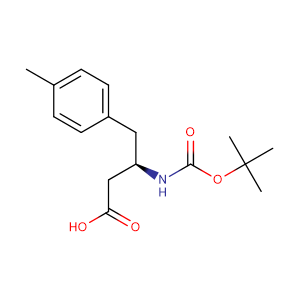 Boc-(R)-3-Amino-4-(4-methylphenyl)butyric acid,CAS No. 269398-85-8.