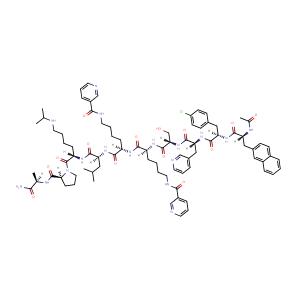 Antide,CAS No. 112568-12-4.