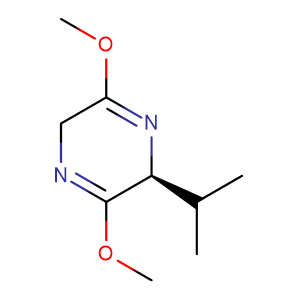 (2S)-(+)-2,5-Dihydro-3,6-dimethoxy-2-isopropylpyrazine,CAS No. 78342-42-4.