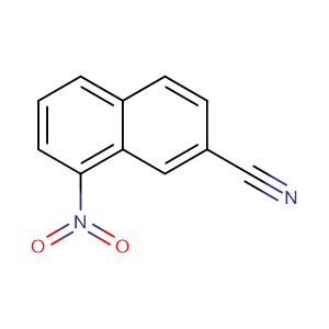 2-Cyano-8-nitronaphthalene,CAS No. 23245-68-3.