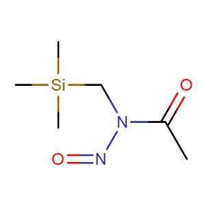 (N-nitroso-N-trimethylsilylmethyl)acetamide,CAS No. 59546-83-7.