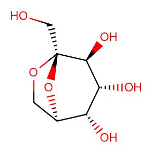 Sedoheptulose anhydride,CAS No. 469-90-9.