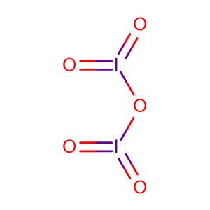 Iodine pentoxide,CAS No. 12029-98-0.