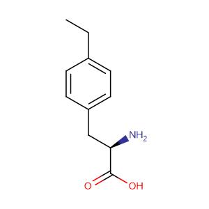 (R)-2-Amino-3-(4-ethylphenyl)propanoic acid,CAS No. 721385-17-7.