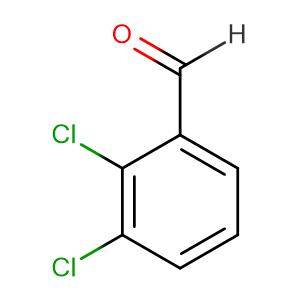 2,3-Dichlorobenzaldehyde,CAS No. 6334-18-5.