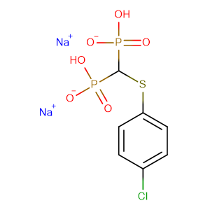 Tiludronic acid disodium salt,CAS No. 149845-07-8.