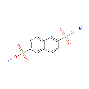 Sodium naphthalene-2,6-disulfonate,CAS No. 1655-45-4.