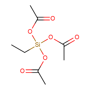(Triacetoxy)ethylsilane,CAS No. 17689-77-9.