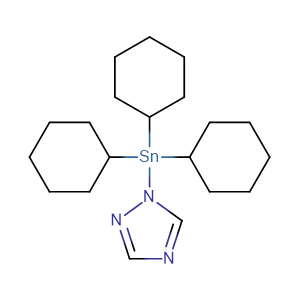 Azocyclotin,CAS No. 41083-11-8.