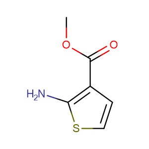 Methyl 2-aminothiophene-3-carboxylate,CAS No. 4651-81-4.