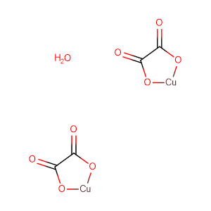 Cupric oxalate,CAS No. 5893-66-3.