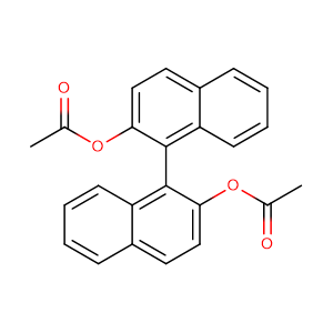 (S)-(+)-1,1'-Bi(2-naphthyl diacetate),CAS No. 69677-98-1.