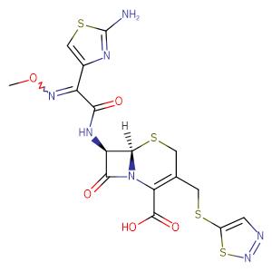 Cefuzonam,CAS No. 82219-78-1.