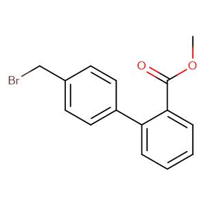 Methyl 4-bromomethyl-biphenyl-2-carboxylate,CAS No. 114772-38-2.