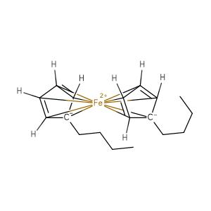 Butylferrocene,CAS No. 31904-29-7.