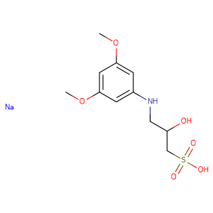 N-(2-Hydroxy-3-sulfopropyl)-3,5-dimethoxyaniline sodium salt,CAS No. 82692-88-4.