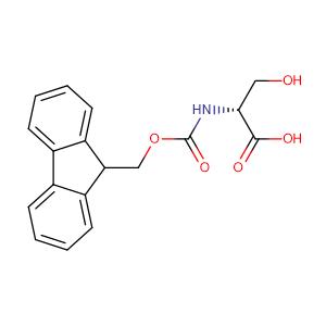 N-[(9H-Fluoren-9-ylmethoxy)carbonyl]-D-serine,CAS No. 116861-26-8.