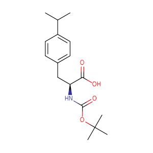 Boc-p-isopropylphenyl-L-alanine,CAS No. 261360-70-7.