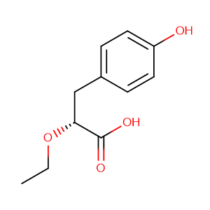 (R)-2-Ethoxy-3-(4-hydroxy-phenyl)-propionic acid,CAS No. 325793-69-9.