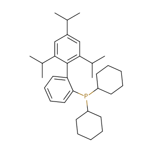 2-(Dicyclohexylphosphino)-2',4',6'-triisopropylbiphenyl,CAS No. 564483-18-7.