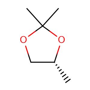 1,3-Dioxolane, 2,2,4-trimethyl-,CAS No. 1193-11-9.