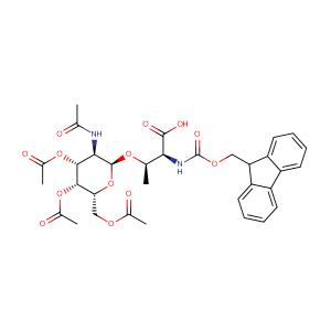Fmoc-Thr(galnac(Ac)3-alpha-D)-OH,CAS No. 116783-35-8.