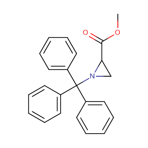 1-Trityl-aziridine-2-carboxylic acid methyl ester,CAS No. 76357-18-1.