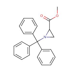 1-Trityl-aziridine-2-carboxylic acid methyl ester,CAS No. 76357-18-1.