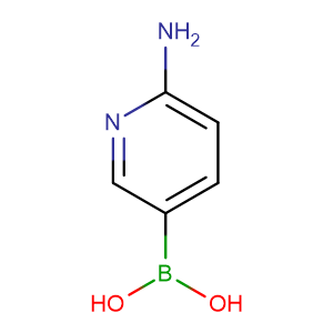 6-Aminopyridine-3-boronic acid,CAS No. 851524-96-4.