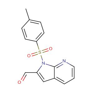 1-[(4-methylphenyl)sulfonyl]-1H-Pyrrolo[2,3-b]pyridine-2-carboxaldehyde ,CAS No. 479553-03-2.