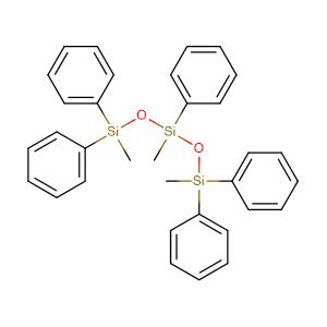 1,1,3,5,5-Pentaphenyl-1,3,5-trimethyltrisiloxane,CAS No. 3390-61-2.