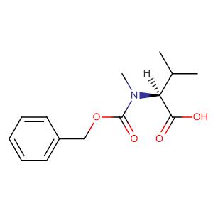 Cbz-N-methyl-L-valine,CAS No. 42417-65-2.