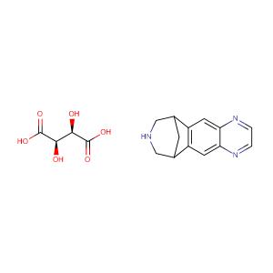 Varenicline tartrate,CAS No. 375815-87-5.