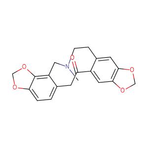 Protopine,CAS No. 130-86-9.