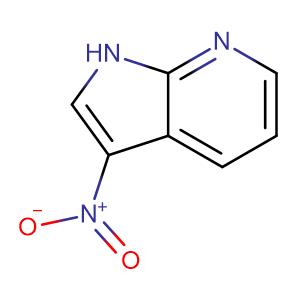 3-Nitro-1H-pyrrolo[2,3-b]pyridine,CAS No. 23709-47-9.