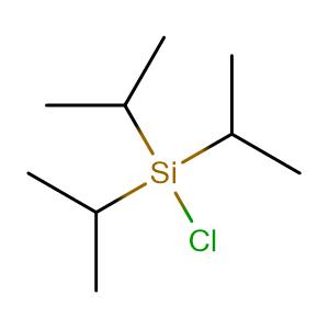 Triisopropylsilyl chloride,CAS No. 13154-24-0.