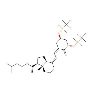 [[(1a,3b,5E,7E)-9,10-Secocholesta-5,7,10(19)-triene-1,3-diyl]bis(oxy)]bis[(1,1-dimethylethyl)dimethylsilane],CAS No. 112670-85-6.