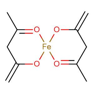 Ferrous acetylacetonate,CAS No. 14024-17-0.